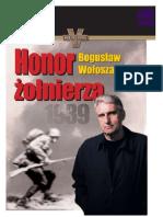 Ebook Bogusław Wołoszański - Honor żołnierza -.pdf