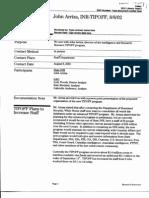 T5 B65 GAO Visa Docs 5 of 6 Fdr- 8-8-02 GAO Interview of John Arriza 808