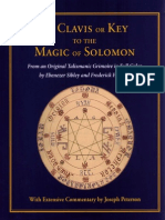 The Clavis or Key to the Magic of Solomon