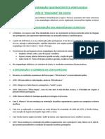 8º Ano - Apontamentos 3 - Os Diferentes Rumos da Expansão Quatrocentista Portuguesa
