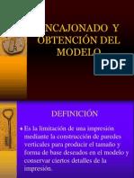 Exposición 04 - Encajonado y Modelo maestro