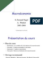 Macro Chap 1 - Variables clés et théories de la macro