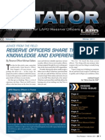 LAPD Reserve Rotator Newsletter Winter 2011