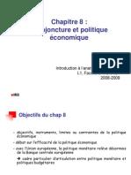 IAE Chap 8 - Conjoncture et politique économique