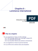 IAE Chap 9 - Commerce International