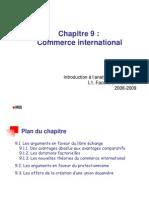 IAE Chap 9 - Commerce International