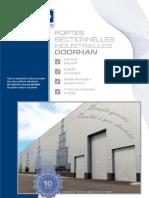 Portes Sectionnelles Industrielles DoorHan Catalogue 2005