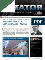 LAPD Reserve Rotator Newsletter Spring 2012