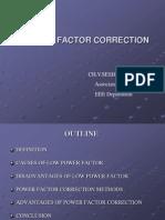 Powerfactor Correction Model
