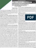 UPSC Job Notification for Various Posts