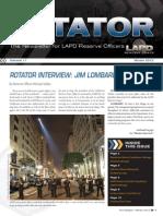 LAPD Reserve Rotator Newsletter Winter 2012