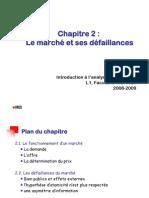IAE Chap 2 - Le marché et ses défaillances