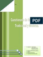 Cuestionario Gramática Tradicional y Moderna