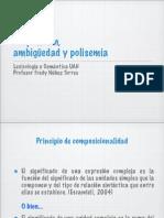 Proposición, ambigüedad y polisemia