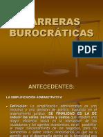 BARRERAS BUROCRATICAS