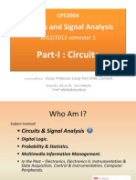CE2004 Circuit and Signal Analysis Chapter 0