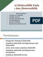 ppt subtutusi elektrofilik benzena