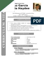 Curriculum Vitae Cruz Garcia Nuria