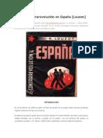 1938 La Contrarevolución en España