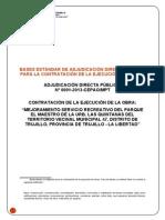 Bases_mejoramiento Del Parque Recreativo_El Maestro