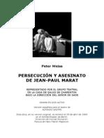 Persecucion y Asesinato Jean Paul Marat
