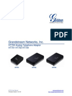 Grandstream Ht70x Series User Manual