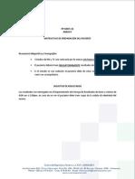 Instrucciones Para Resonancia Magnetica y Tc
