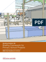 Building Bulletin 99 - Briefing Framework for Primary School Projects