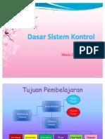 47886203 Dasar Sistem Kontrol