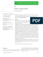 Stress Coping and Satisfaction in Nursing Students