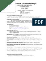 CHM105 Syllabus FA09 700