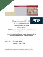 DIAZ- El impacto económico de la independencia en Centroamérica, 1760-1840. Una interpretación