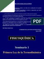 Seminario 1- Primera Ley de la Termodinámica