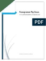 ebook pemograman php dasar lengkap