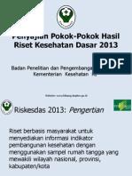 Riskesdas 2013 Pdf