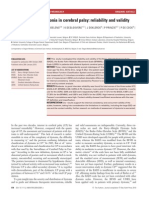 Rating Scales for Dystonia in Cerebral Palsy Reliability and Validity