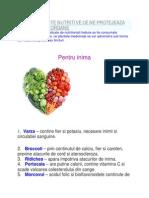 100 de Alimente Nutritive Ce Ne Protejeaza Principalele Organe
