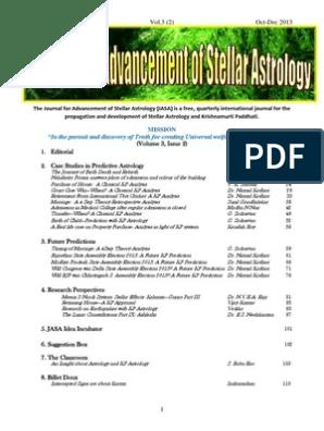 JASA Oct Dec 2013 Issue