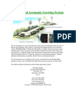 vertical aeroponic farming system