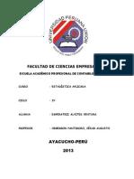 Estadistica IV Ciclo