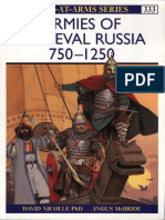 Armies of Medieval Russia 750-1250[Osprey Maa 333]