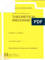 Theory and Problems of Theoretical Mechanics