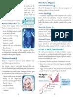 migraine leaflet