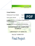Full Project of UMER & ARBAB of Course
