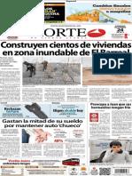 Periódico Norte de Ciudad Juarez 24 de Noviembre de 2013