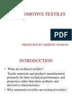 Automative Textiles