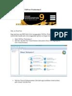 Cara Menggunakan VMWare Workstation 9