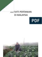 Gambar Tunggal Aktiviti Pertanian