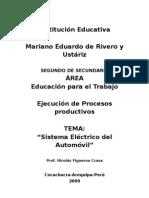 Sistema eléctrico del Automóvil, Colegio  MERU