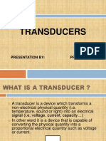 Transducers ppt